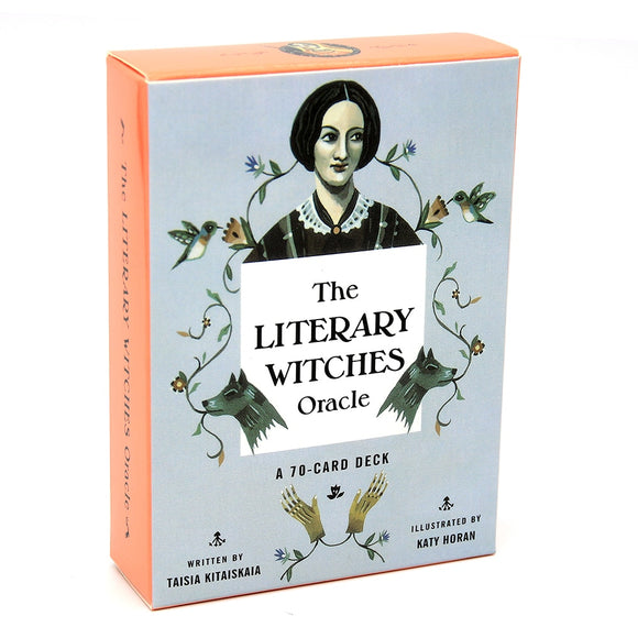 The Literary Witches Oracle Cards | 70 Cards to Inspire Creativity