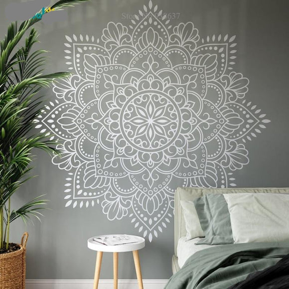 Large Mandala Vinyl Wall Art Decal