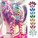 Rhinestone Hair Part Diamond Sticker | Festival Hair