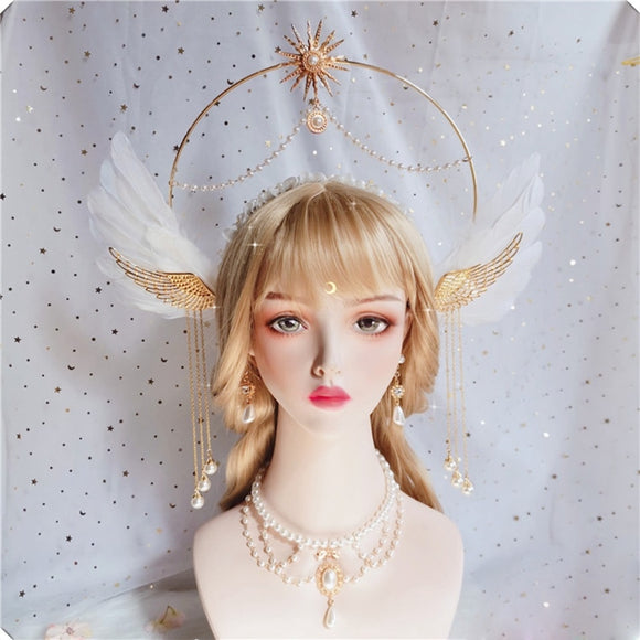 Apollo Sun Godmother's Crown |  Vintage Angel