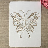 Butterfly | A4 29cm | DIY Craft Layering Stencils