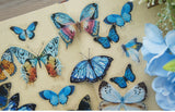 38pcs Butterfly PVC Stickers | Scrapbooking DIY Craft