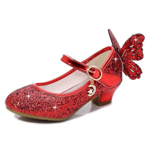 MORE Magical Glittery Butterfly Girls Shoes