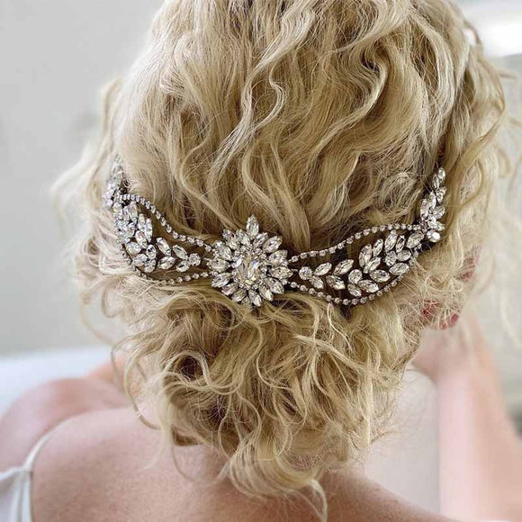Crystal Hair Combs Tiara | Bridal Wedding Hair Accessories