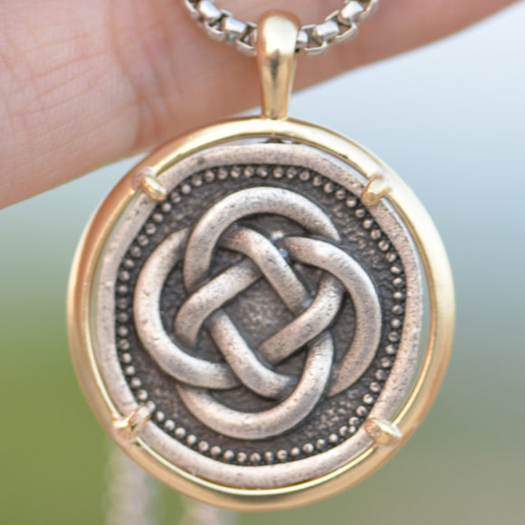 Irish Celtic Knot Pendant Necklace Knot