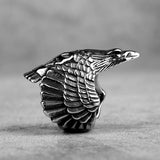 Flying Eagle | Stainless Steel Men Rings
