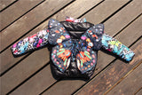 Kid's Butterfly Jacket | Warm Winter Coat