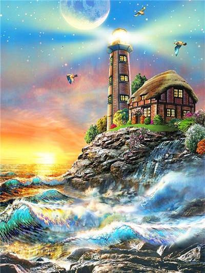 Lighthouses | CRYSTAL MOSAIC DIY PAINTING
