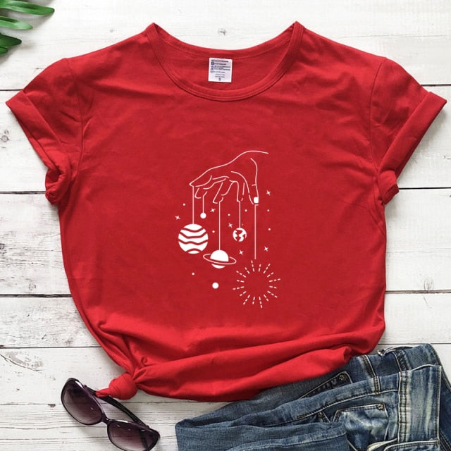 Universe In Hand T-shirt