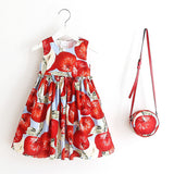 Toddler Holiday Dresses with Matching Purse