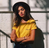 Not Your Baby T-Shirt | Yellow 90s Cotton Vintage Tees