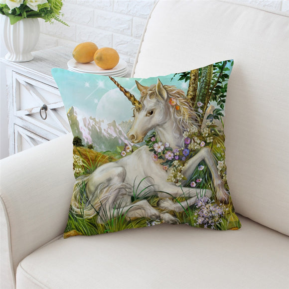 You Magnificent Beast You | Unicorn Cushion Cover