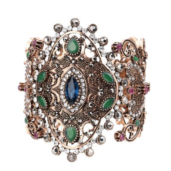 Straight From The Woodland Queen's Jewellery Box | Statement Cuff Bracelet