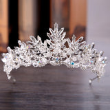 Ice Queen Crystals Crown | Black or White