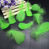 100pcs Goose Down Fluffy Plume Feathers | 8-12cm |  3-4 inch | Crafting - Woodland Gatherer