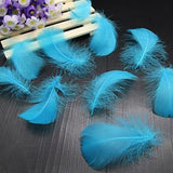 100pcs Goose Down Fluffy Plume Feathers | 8-12cm |  3-4 inch | Crafting