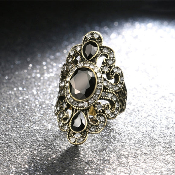 Bohemian Style Antique Gold Ring | Women Vintage Jewellery