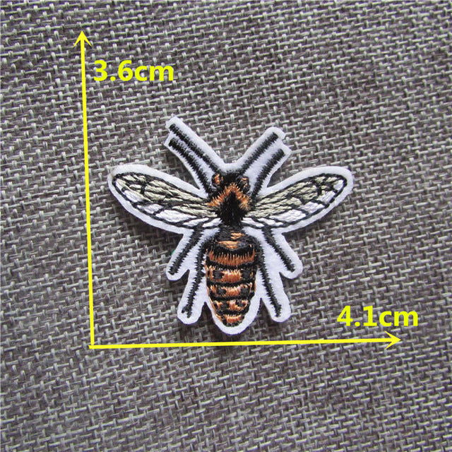 Bees | Sewing Clothes Patch High Quality Iron On Embroidery Patches