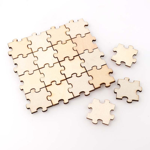 Wooden DIY Paint Your Own Jigsaw