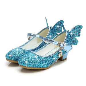 Magical Glittery Butterfly Girls Shoes
