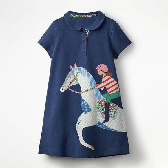 Gee Gees | Kids Cotton Short Sleeve Dresses