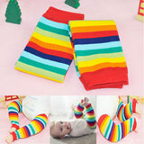 Rainbow Brite Striped Leg Warmers