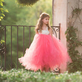 Handmade Fairy Tutu Princess Tulle Dress | Photo Shoot Costume | Dress Up Fun