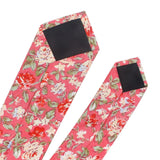 Floral Print Cotton Neck Tie For Men
