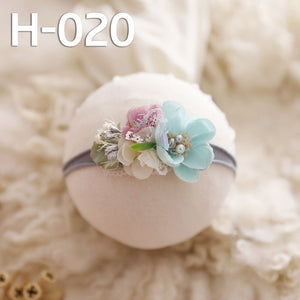 Baby Floral Headband | Little Girl Hair Accessories | Photo Props | Special Occasion Wear