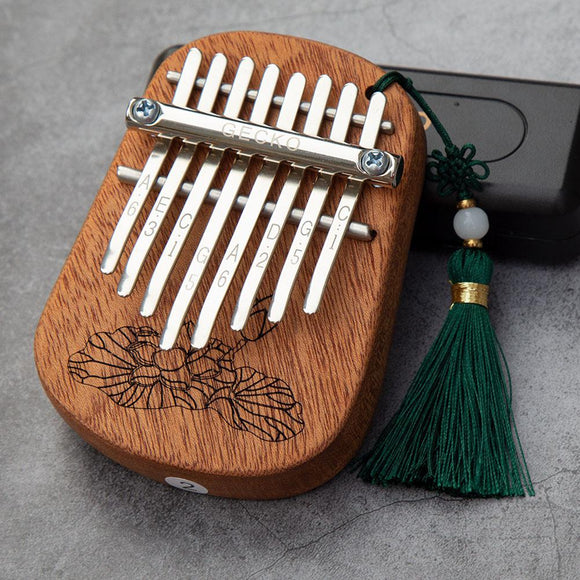 8 Key Mini Kalimba | Camphor Wood or Mahogany | Musical Instrument