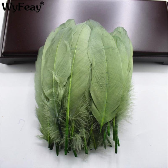 20pcs Natural Goose Feather Plumes | 15-20cm  | 30 Colourful Options