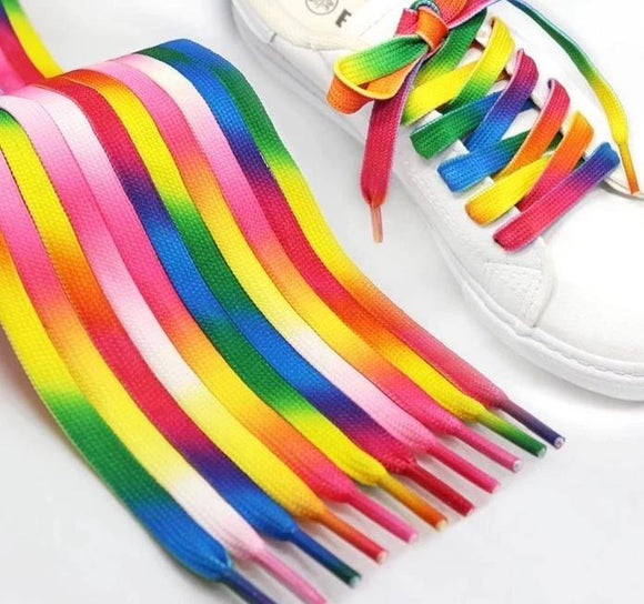 Shoelaces Colourful Fun Fashion | Woodland Gatherer | Australian Online Store | Gifts & Treasures | Special Occasions & Everyday Fun | Boho Life | Whimsical Treats | Jewellery | Fashion | Crafting DYI | Stationery | Boho Festival Fashion