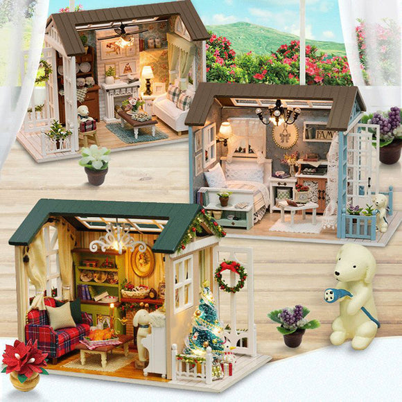Puppy's Tiny Doll Houses | DIY Kit with Miniatures