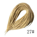 Double Dreadlocks Braids | Synthetic Hair Extensions Twist | 10 or 20 Strands - Woodland Gatherer