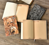 Embossed Leather Books Faux Leather Australian NZ Online Shopping Gifts  | Woodland Gatherer | Australian Online Store | Gifts & Treasures | Special Occasions & Everyday Fun | Boho Life | Whimsical Treats | Jewellery | Fashion | Crafting DYI | Stationery | Boho Festival Fashion