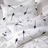 Two Dragonfly Pillowcases