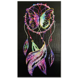 DIY Crytal Painting Kit | Dreamcatcher Feathers | Big Crystal Mosaic | DIY Wall Decor