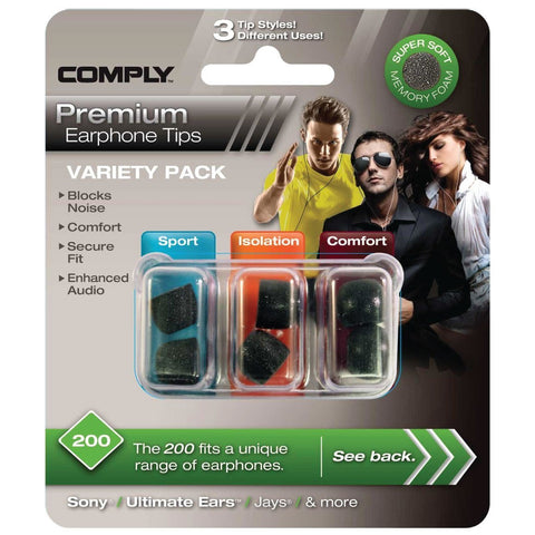 Comply Variety Pack 200