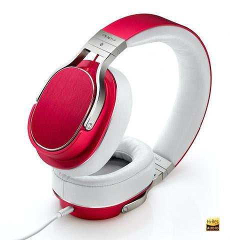 Oppo Red PM-3 Headphones + Marshall Stockwell Bundle
