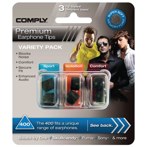 Comply Variety Pack 400