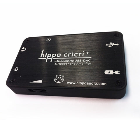 Hippo CriCri+ Headphone Amplifier & 24/96 USB DAC