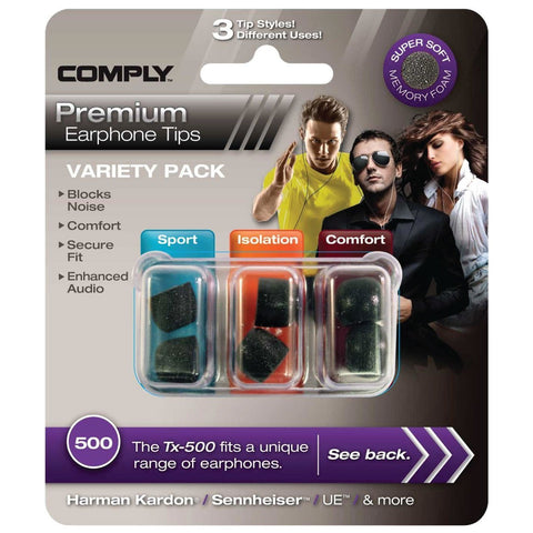 Comply Variety Pack500
