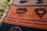 Love Old West Jacquard Woven Kitchen Tea Towel / Tapestry - Crystal Arrow