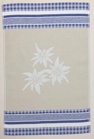 Edelweiss Jacquard Woven Kitchen Tea Towel - Crystal Arrow