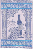 Wine Jacquard Woven Kitchen Tea Towel / Tapestry - Crystal Arrow
