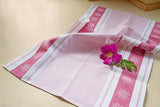 Edelweiss Jacquard Woven Kitchen Tea Towel - Side Variation - Crystal Arrow