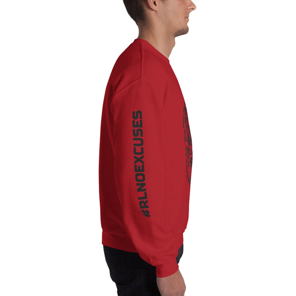 No Excuses Crew Neck Sweatshirt