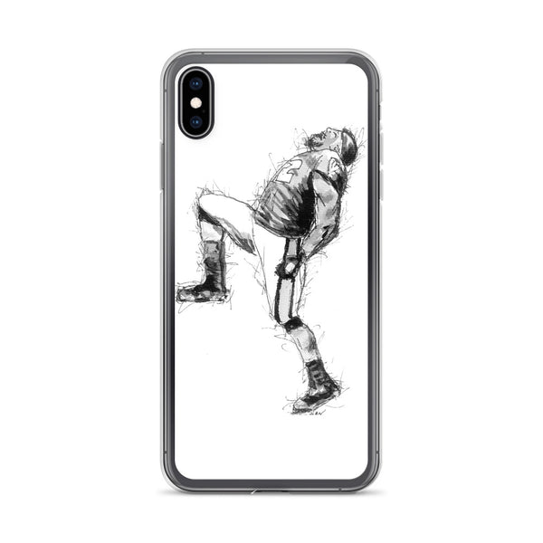 Ray Lewis Custom Sketch iPhone Case