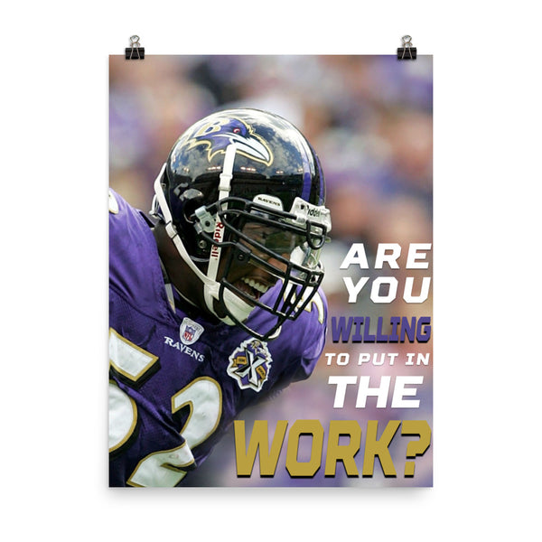 Work Poster | Ray Lewis