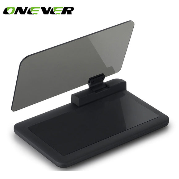 Car HUD Head Up Display Projector Phone GPS Navigation Holder Bracket Multifunctional Reflection Projector for iPhone 8 8 Plus S